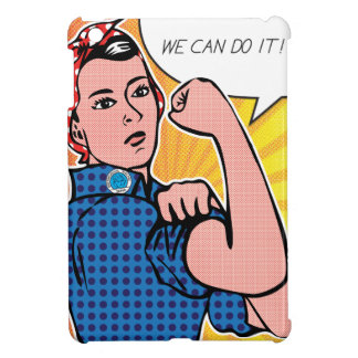 Rosie the Riveter We Can Do It Pop Art Dots Cover For The iPad Mini