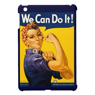 Rosie the Riveter We Can Do It Vintage Cover For The iPad Mini