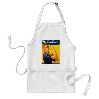 Rosie the Riveter We Can Do It Vintage Standard Apron