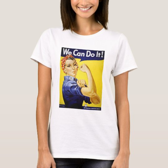 Rosie the Riveter We Can Do It Vintage