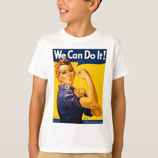 Rosie the Riveter We Can Do It Vintage T-shirts