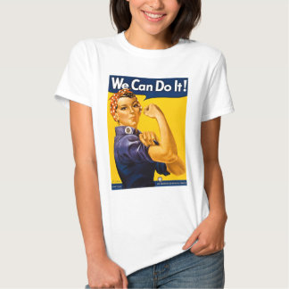 Rosie the Riveter We Can Do It Vintage Tshirt
