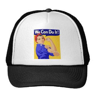 "Rosie the Riveter ""We Can Do It"" World War II Cap"