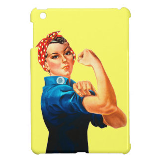 Rosie The Riveter WWII Poster iPad Mini Cover