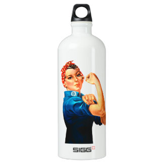 Rosie The Riveter WWII Poster SIGG Traveller 1.0L Water Bottle