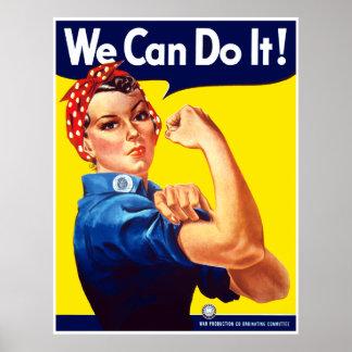 Rosie The Rivetor -- Border Poster