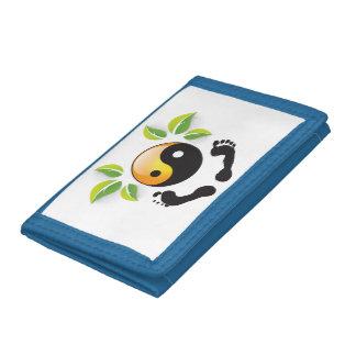 Rosie Wohlfühl Oase Brieftasche 3falt blau Nylon2 Trifold Wallets