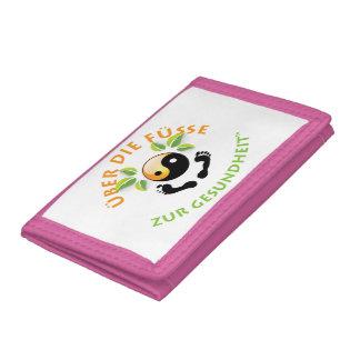 Rosie Wohlfühl Oase Brieftasche 3falt rosa Nylon1 Tri-fold Wallet