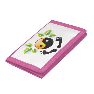 Rosie Wohlfühl Oase Brieftasche 3falt rosa Nylon2 Tri-fold Wallets