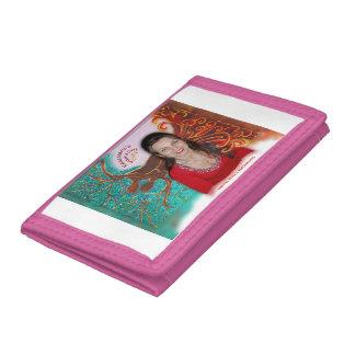 Rosie Wohlfühl Oase Brieftasche 3falt rosa Nylon3 Trifold Wallet