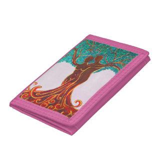 Rosie Wohlfühl Oase Brieftasche 3falt rosa Nylon4 Trifold Wallet