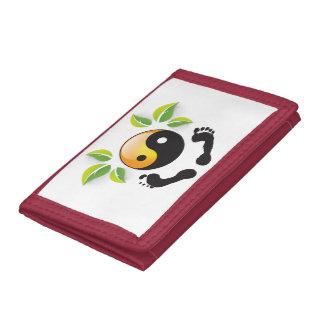 Rosie Wohlfühl Oase Brieftasche 3falt rot Nylon2 Trifold Wallet