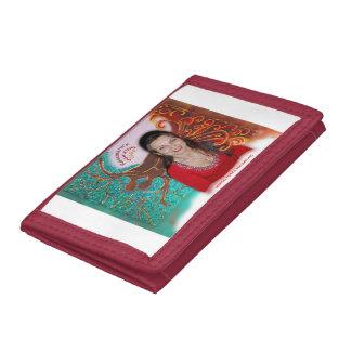 Rosie Wohlfühl Oase Brieftasche 3falt rot Nylon3 Tri-fold Wallet