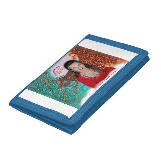 Rosie Wohlfühl Oase Brieftasche 3falt schw Nylon3 Tri-fold Wallet
