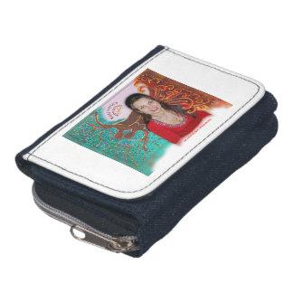 Rosie Wohlfühl Oase Brieftasche zip Denim3 Wallets