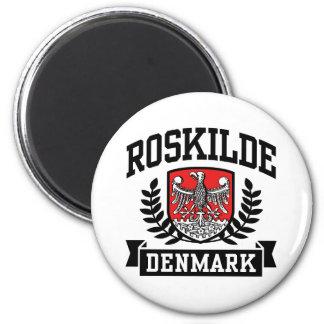 Roskilde Denmark 6 Cm Round Magnet