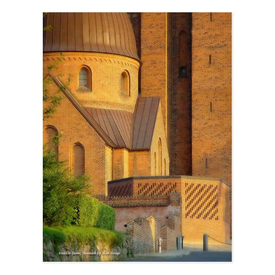 Roskilde Dome, Denmark Postcard