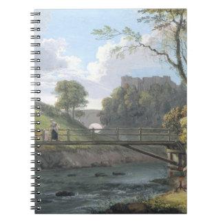 Roslin Castle, Midlothian (w/c and gouache on pape Notebooks