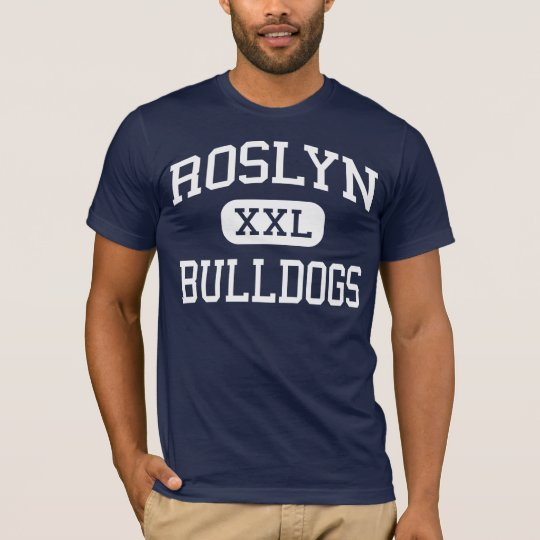 Roslyn Bulldogs Middle Roslyn Heights T-Shirt