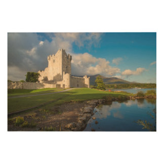 Ross Castle, Horizontal Wood Wall Art