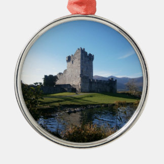 Ross castle Killarney Christmas Ornament