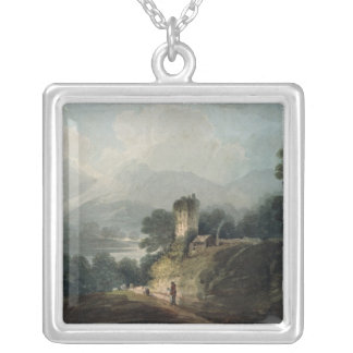 Ross Castle, Killarney, County Kerry Silver Plated Necklace