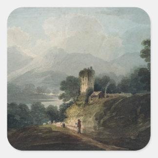 Ross Castle, Killarney, County Kerry Square Sticker