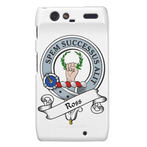 Ross Clan Badge Droid RAZR Covers