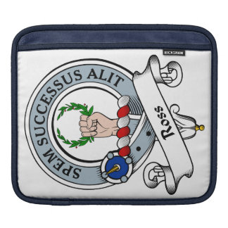 Ross Clan Badge Sleeves For iPads