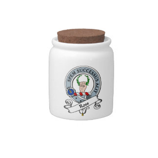 Ross Clan Badge Candy Dish