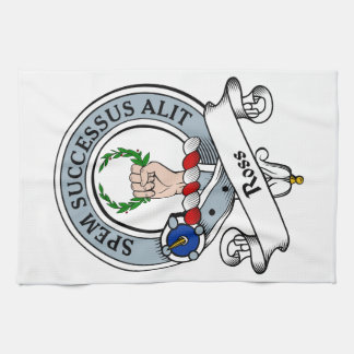 Ross Clan Badge Hand Towels