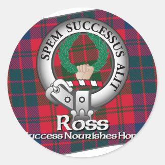 Ross Clan Mug Sticker