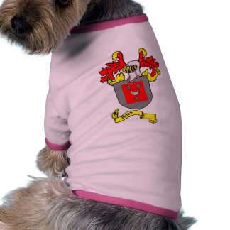 ROSS Coat of Arms Pet T-shirt