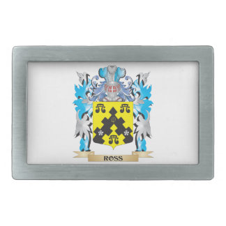 Ross- Coat of Arms - Family Crest Belt Buckles