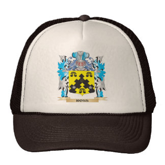 Ross- Coat of Arms - Family Crest Cap