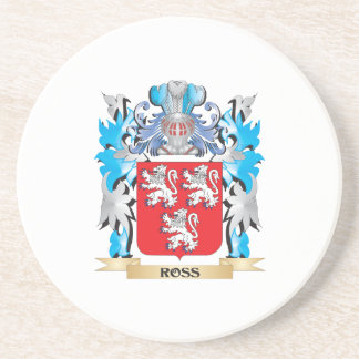 Ross Coat of Arms - Family Crest Coaster