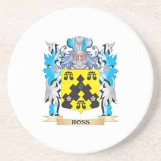 Ross- Coat of Arms - Family Crest Coasters