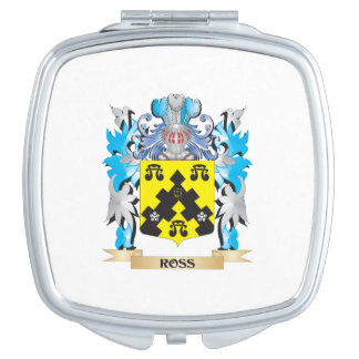 Ross- Coat of Arms - Family Crest Compact Mirror