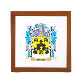 Ross- Coat of Arms - Family Crest Pencil Holder