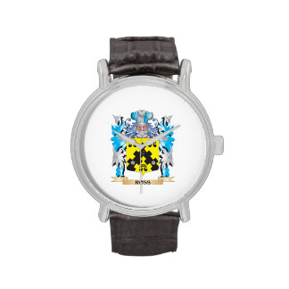Ross- Coat of Arms - Family Crest Wristwatch