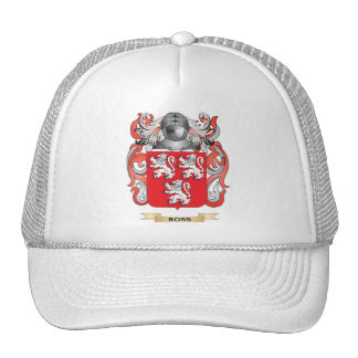 Ross Coat of Arms (Family Crest) Trucker Hats