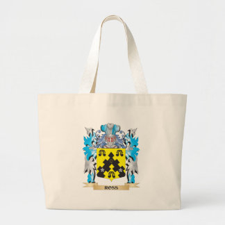 Ross- Coat of Arms - Family Crest Jumbo Tote Bag
