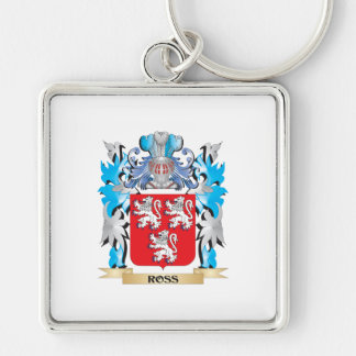 Ross Coat of Arms - Family Crest Keychain
