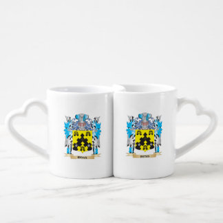 Ross- Coat of Arms - Family Crest Couples' Coffee Mug Set