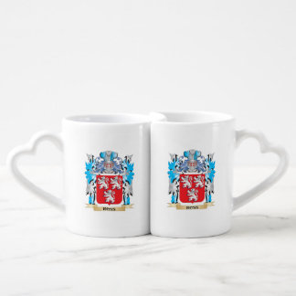 Ross Coat of Arms - Family Crest Lovers Mug Set