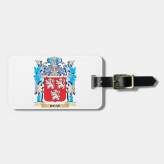 Ross Coat of Arms - Family Crest Tags For Bags
