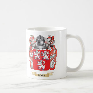 Ross Coat of Arms Family Crest Coffee Mugs