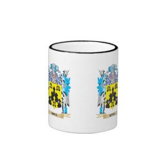 Ross- Coat of Arms - Family Crest Ringer Coffee Mug