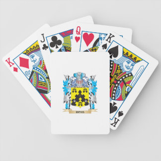 Ross- Coat of Arms - Family Crest Bicycle Playing Cards