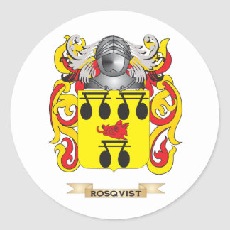 Ross Coat of Arms Family Crest Sticker